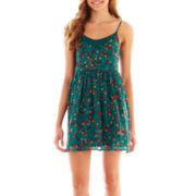 Arizona Sleeveless Floral Lace Dress