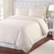 Lamont Home® Maddie Damask Coverlet & Accessories