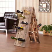 36-Bottle Rustic Wine Rack