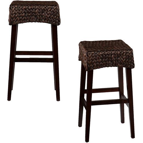 Kendall Set of 2 Backless Barstools