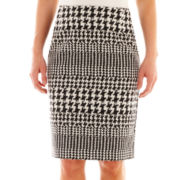 Worthington® Houndstooth Print Pencil Skirt