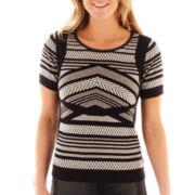 Worthington® Short-Sleeve Sweater Shell