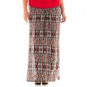 Alyx® Challis Print Maxi Skirt - Plus