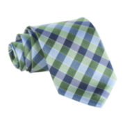 Stafford® Starfish Gingham Tie
