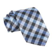 Stafford® Starfish Gingham Tie