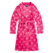 Jellifish Star-Print Fleece Robe - Girls 4-16