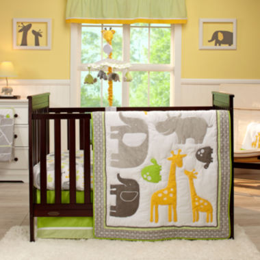 jcpenney.com | Carter's® 4-pc. Animals Crib Bedding Set - One Size