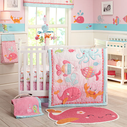 Carter's® 4-pc. Sea Crib Bedding Set - One Size