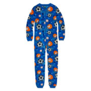 Jellifish Kids Fleece Zip-Front Pajamas – Boys 8-20