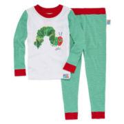 Caterpillar 2-pc. Cotton Pajama Set - Toddler Boys 2T-5T