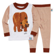 Brown Bear 2-pc. Cotton Pajama Set - Toddler Boys 2T-5T