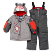 Luvgear Polar Bear Snowsuit - Toddler Boys 2t-4t