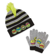 Teenage Mutant Ninja Turtles Hat and Glove Set - Preschool Boys 4-7
