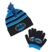 Batman Hat and Glove Set - Preschool Boys 4-7