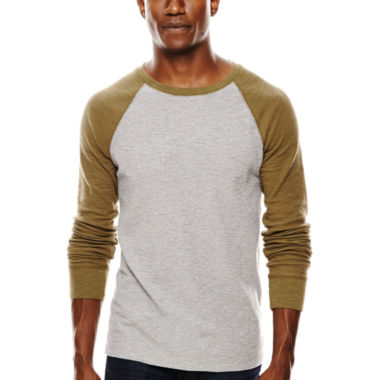 jcpenney.com | Arizona Raglan-Sleeve Thermal Pullover