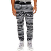 Southpole® Allover Aztec Jogger Pants