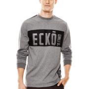 Ecko Unltd.® Out in Front Long-Sleeve Logo Tee