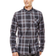 DC® Swell Flannel Button-Front Shirt
