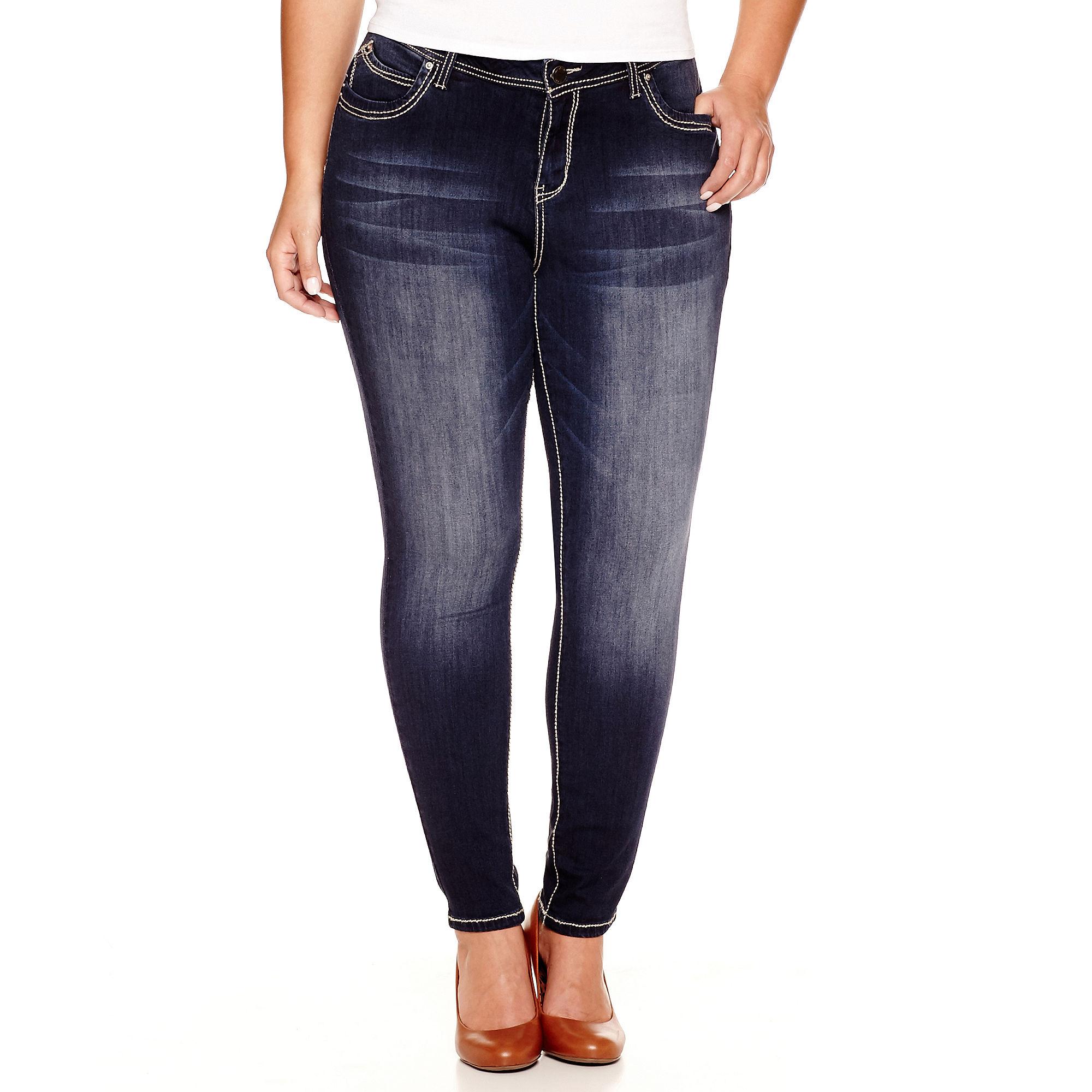 YMI Wanna Betta Butt Skinny Jeans - Juniors Plus