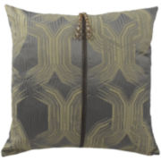 "Vue™ Signature Double Decker 18"" Square Decorative Pillow"