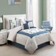 Victoria Classics Trousdale 8-pc. Embroidered Comforter Set
