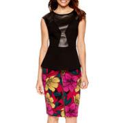 Worthington® Peplum Blouse or Zipper-Front Skirt