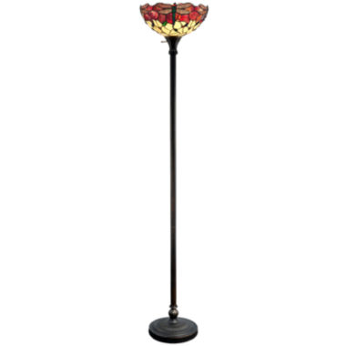 jcpenney.com | Dale Tiffany™ Dragonfly Torchiere Floor Lamp