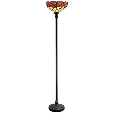 Dale Tiffany Dragonfly Torchiere Floor Lamp Jcpenney