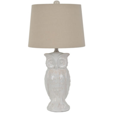 jcpenney.com | Owl Ceramic Table Lamp