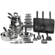 Philippe Richard® 25-pc. Stainless Steel Cookware Set