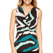 Worthington® Knot-Front Tank Top