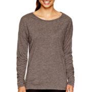 Xersion™ Long-Sleeve Cross-Back T-Shirt