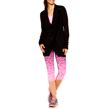 jcpenney.com | Xersion™ Wrap Cardigan, Singlet Tank Top or Double-Band Pants - Tall