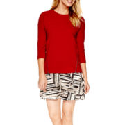 a.n.a® Zipper Sweatshirt or Flounce Skirt