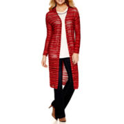 a.n.a® Textured Sweater Duster, Embellished T-Shirt or High-Rise Flare Jeans