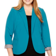 Worthington® Essential Open-Front Blazer - Plus