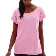 Xersion™ Short-Sleeve Oversized Lounge T-Shirt
