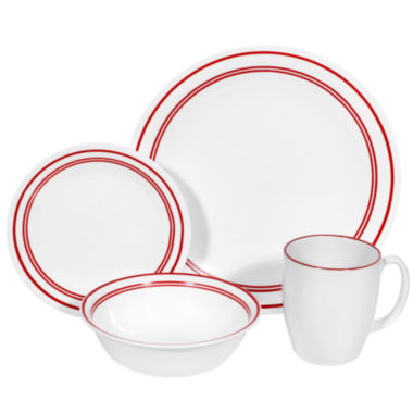 jcpenney.com | Corelle® Livingware™16-pc. Break-Resistant Dinnerware Set