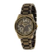 Decree® Womens Classic Metal Watch
