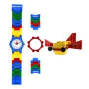 LEGO® Kids Bright Colors Minifigure Watch Set