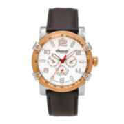 Ingersoll® Mescalero Mens Two-Tone Tachymeter Sport Watch