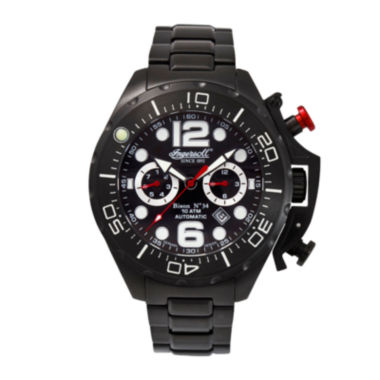 jcpenney.com | Ingersoll® Bison Mens Black Automatic Watch