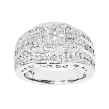 jcpenney.com | 2 CT. T.W. Princess Diamond 3-Stone Engagement Ring
