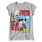 Disney Mickey & Minnie Comic Graphic Tee - Girls 2-10