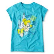 Disney Tinker Bell Graphic Tee - Girls 2-10