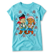 Disney Jake & Izzy Graphic Tee - Girls 2-10