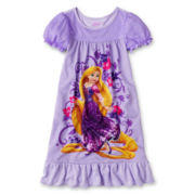 Disney Rapunzel Nightgown- Girls 2-10