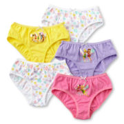 Disney Collection Fairies 5-pk. Panties - Girls 2-8