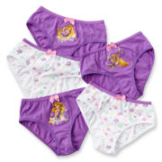 Disney Collection Rapunzel 5-pk. Panties - Girls 2-8