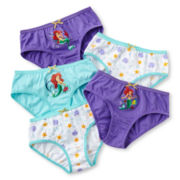 Disney Ariel 5-pk. Panties - Girls 2-8